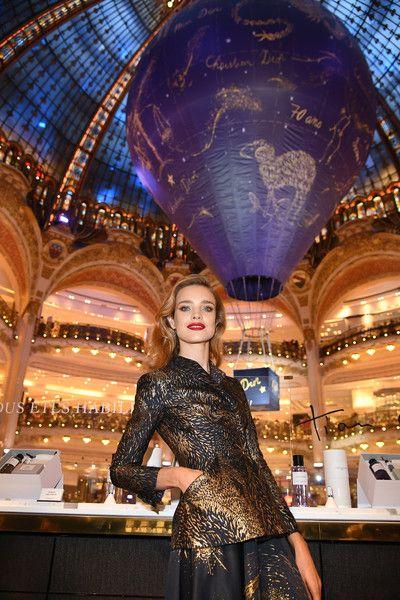 Natalia Vodianova Photos Photos Christian Dior Celebrates 70 Years Of Creation At The Galeries Lafayette Haussmann In Paris Natalia Vodianova Fashion Fashion Show