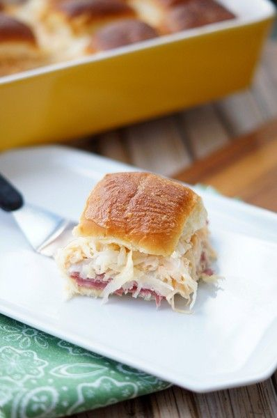 Reuben Sliders - All The Mouthwatering Slider Recipes You'll Ever Need - Photos