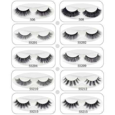 4bc49e2a256 Lash 3D Mink Lashes Eye Lashes Soft Thick & Natural Long Fake Eyelashes  Extension For Makeup 100% Handmade 9 Styles 1 Pair