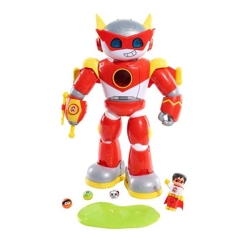 Ryan S World Ultimate Red Titan Interactive Figure In 2020 Ryan Toys Action Toys Titans