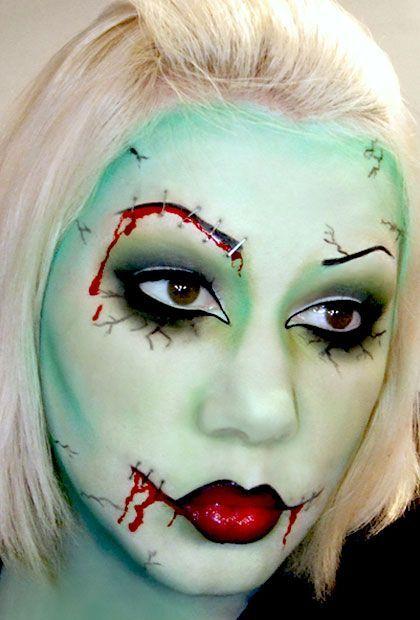 12 Spooky Halloween Makeup Ideas For A Perfect Fun And Celebration Facepaintingideasforadults Pixie