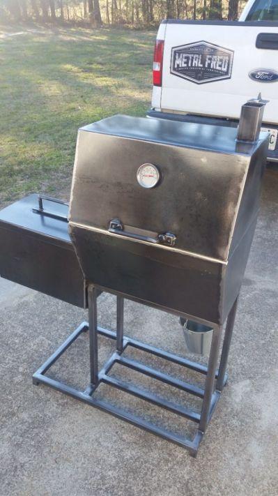 Pics For Homemade Charcoal Grill Custom Bbq Pits Bbq Pit Smoker Diy Bbq