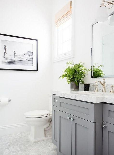142+ Marvelous Farmhouse Bathroom Tile Floor Decor Ideas and Remodel to Inspire Your Bathroom #bathroomideas #bathroomdesign #bathroomremodel