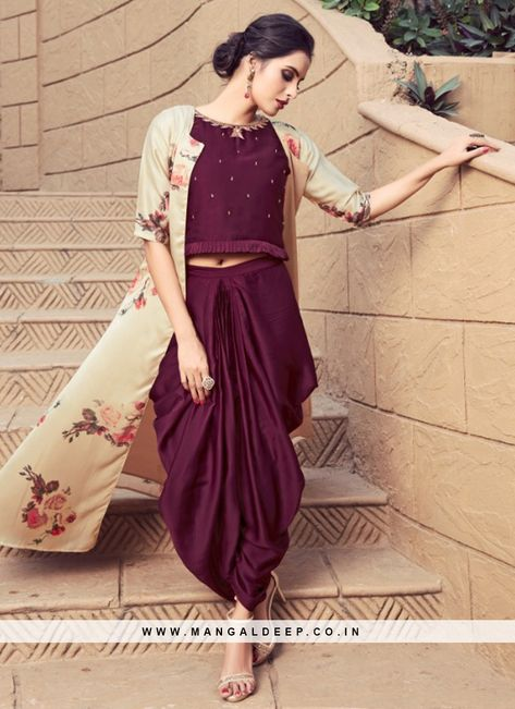 Mesmerizing Purple Color Function Wear Kurti #purple #kurti
