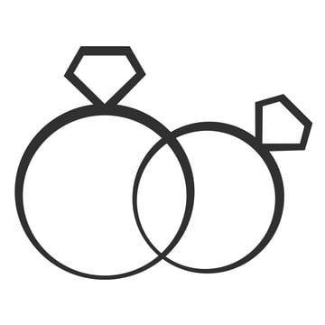 التوضيح من اثنين خاتم الخطوبة الخطبة المرسومة رموز المشاركة أيقونات رنين Png والمتجهات للتحميل مجانا Engagement Icon Ring Icon Ring Vector