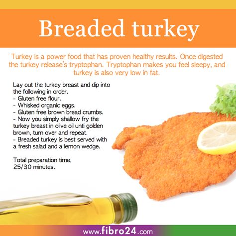 We created a bunch of recipes that could help folks with fibromyalgia. Our gluten free turkey steak is a perfect and easy meal to enjoy at the end of a long hard day.