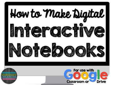 Notebook Organization Work - How to Make Digital Interactive Notebooks (Video Tutorial) Geography Interactive Notebook, Interactive Notebooks Kindergarten, Science Notebooks, Interactive Journals, Science Notebook Cover, Google Classroom, Classroom Ideas, Science Classroom, Online Classroom