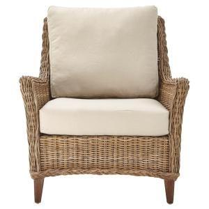 Home Decorators Collection Genie Grey Kubu Wicker Club Arm Chair 9940800100 Living Room Furniture Chairs Armchair Chair