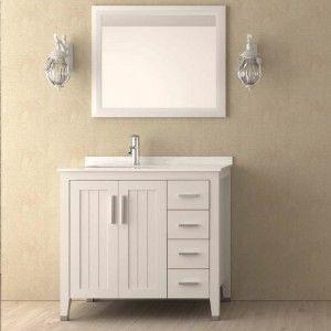Discounted 76cm 90cm Bath Vanities Quality Bathroom Vanity Unit