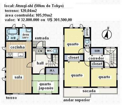 planos de casas japones