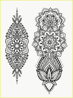 28 Tattoo Vorlagen Ausdrucken Mandala Tattoo Design Mandala