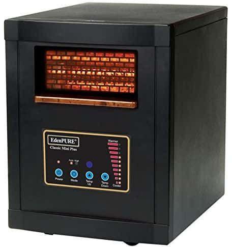 Edenpure Classic Mini Plus Infrared Heater Infrared Heater Best