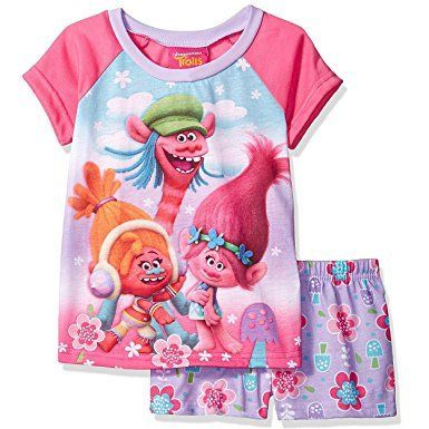 Trolls Girls Short Pyjamas Pjs