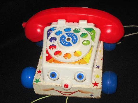 https://flic.kr/p/C6oBa | Chatty | One of the earlier versions of the ubiquitous fp pulltoy phone