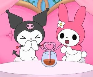 Sanrio Hello Kitty, Chat Hello Kitty, Hello Kitty My Melody, Animes Wallpapers, Cute Wallpapers, Vintage Cartoons, Bedroom Wall Collage, Cartoon Profile Pictures, Dibujos Cute