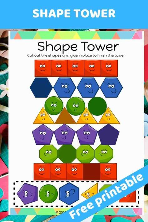 The Tower of Babel - Free printable Bible lesson for preschoolers