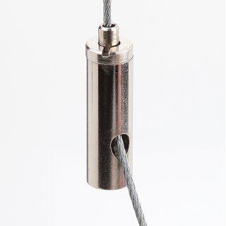 Ms Seilstopper Drahtseilhalter 9x24mm seitlicher Ausgang für Y-Aufhängung