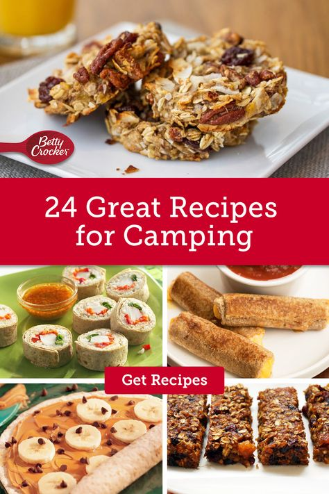 Our 24 Great Recipes for Camping are great meal-prep camping hack. Pin today for your next camping adventure.