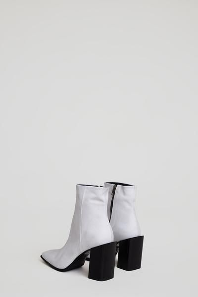 3986c23a6b2 No.6 Square Toe High Heel Boot in Gesso | Window shopping | Square ...