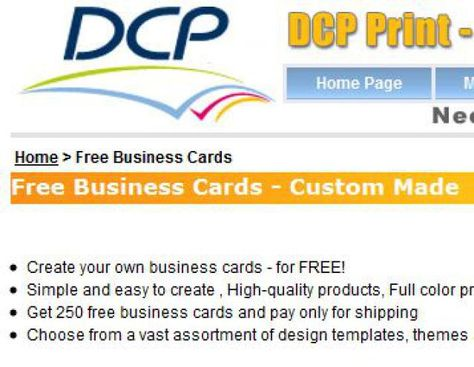 Go pro with free business card templates free business cards colourmoves Gallery