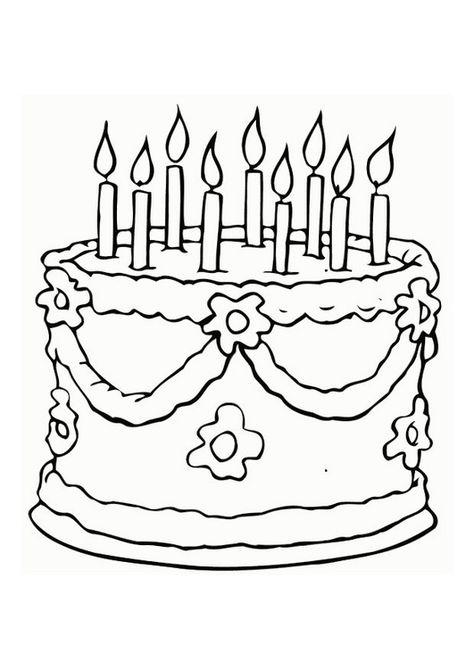 malvorlage torte abb 12526  ausmalbilder ausmalblatt