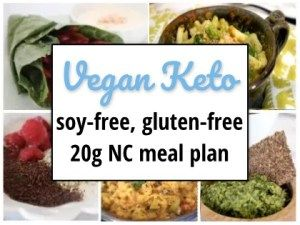 soy and wheat free vegan keto diet