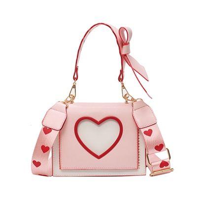 Handbag small bow tote bag leather ladies crossbody bag