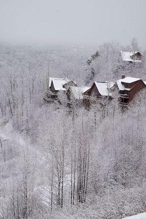 Cabin Rentals High In The Blue Ridge Mountains Near