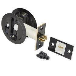 Show Details For 1534 Blk 1 3 4 Pocket Door Lock Set Pocket Door Lock Pocket Doors Pocket Door Hardware