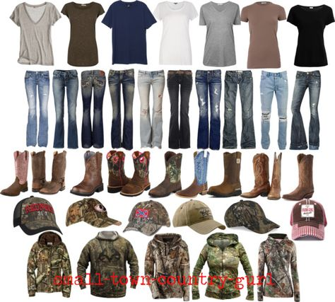"""Country girls World"" Haha I actually live in each one of these outfits during the weekend at the ranch :) love it!!!"