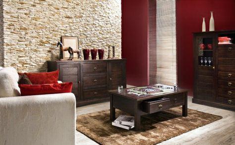 stone look Wall Stone Wall indoor living room furnishing ideas 6 - ideen fur regenschirmstander innendesign bestimmt auswahl