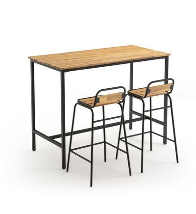 Table De Jardin Haute Hiba En 2020 Table De Jardin La Redoute