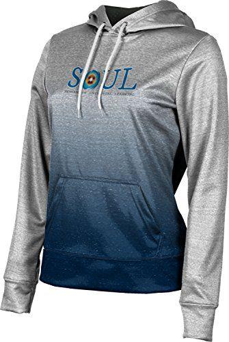 ProSphere Girls' SOUL Charter School Ombre Hoodie Sweatshirt (Apparel)    Sweatshirts, Active wear for women, School sweatshirts