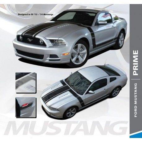 innova3.com GT PRIME BOSS 3M Stripes Decals Hood Sides 2013-2014 ...
