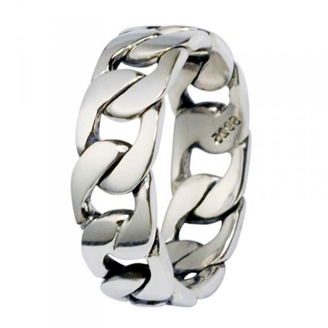 bague homme chaine