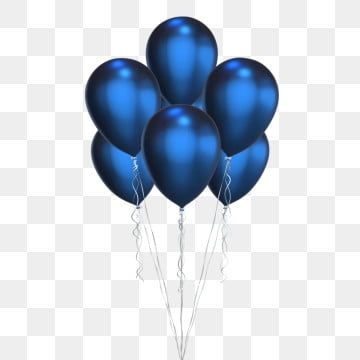 Baloes Azuis Profundos Azul Deep Blue Baloes Imagem Png E Psd Para Download Gratuito Blue Balloons Balloon Clipart Birthday Balloons Clipart