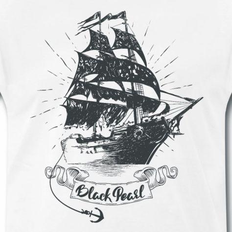 Black Pearl Ship - Fluch der Karibik