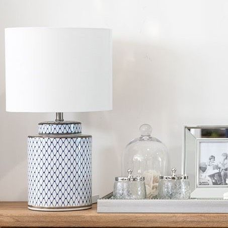 If Your Looking For A Smaller Lamp Then You Will Love The Leila Lamp At Just 55cm High Includin Bedside Table Styling Bedside Table Decor Bedside Table Lamps