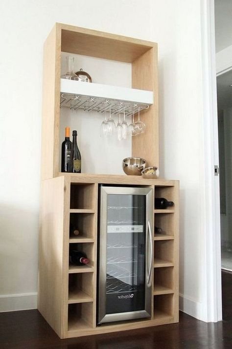 43 Stunning Corner Bar Cabinet Ideas For Coffee And Wine Places
