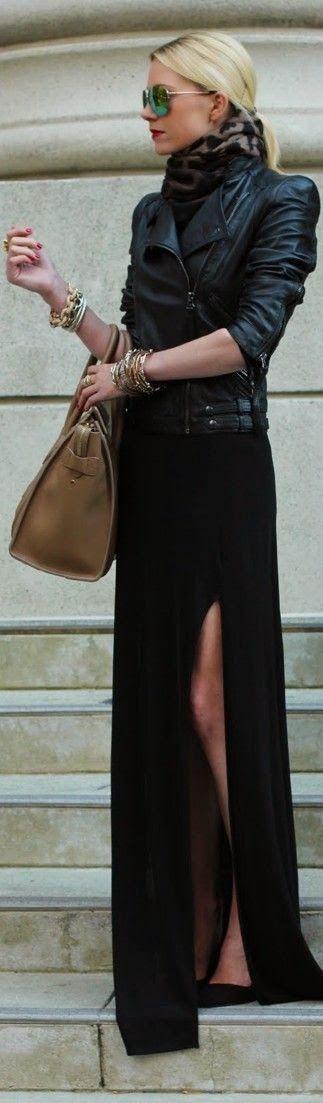 ازياء جلد , ملابس من الجلد للبنات 2019 b40d0472b0ca962d42f8