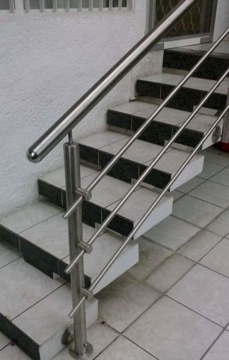 20 Modern Stainless Steel Stair Railing Design Ideas Steel Stair Railing Steel Stairs Steel Stairs Design