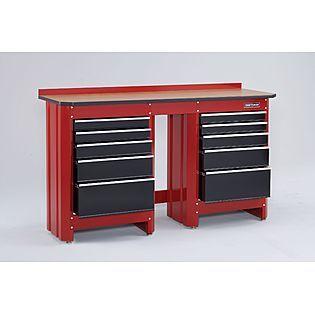 Craftsman 5 Drawer Workbench Module Workbench With Drawers Drawers Tool Box Dresser