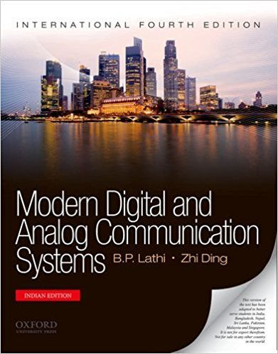 Modern Digital And Analog Communication Systems By BP Lathi