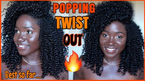 Helllooo!! Another POPPING TWISTOUT ON MY NATURAL HAIR! SHOOKETH!