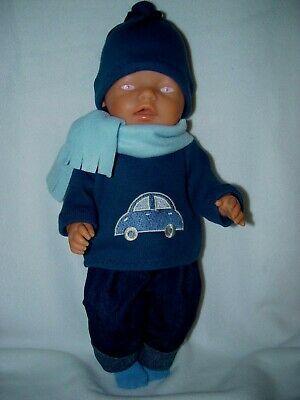 Puppenkleidung Kleidung Fur Baby Puppen 43cm Junge Boy Mehrteil Set Ohne Puppe Ebay In 2020 Puppenkleidung Baby Born Puppe Baby Puppen
