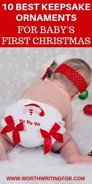 Our First Christmas Ornament 2020 11 Best Keepsake Ornaments for Baby's First Christmas 2020