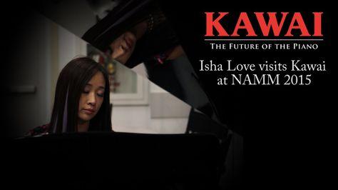 Isha Love at Kawai   NAMM 2015
