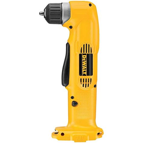 Dewalt 18v 3 8 Right Angle Drill Driver Dw960 Nano Base Bare Tool No Battery Or Charger Review Angle Drill Drill Dewalt