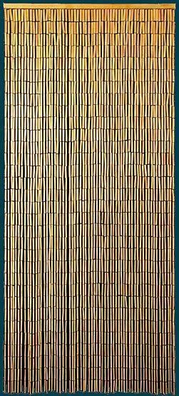 Hawaiian Days Natural Hanging Bamboo Door Beads Bamboo Beaded