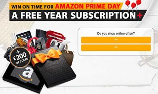 Win A 200 Amazon Prime Day Voucher Now Win A 200 Amazon Prime Day Voucher Now Uk Offer Gaveaway Amazon Prime Day Amazon Prime Now Free Amazon Prime